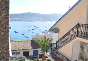 Vistas Habitación Hostal Residencia Bahía Laxe